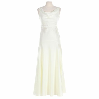 Victor Costa for Nahdrée Sleeveless Occasion Dress in Ivory