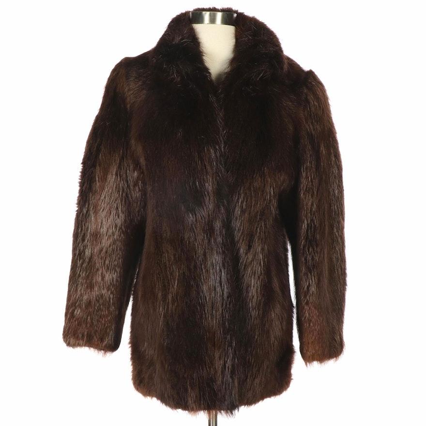 Brown Nutria Fur Coat from Lowenthal's