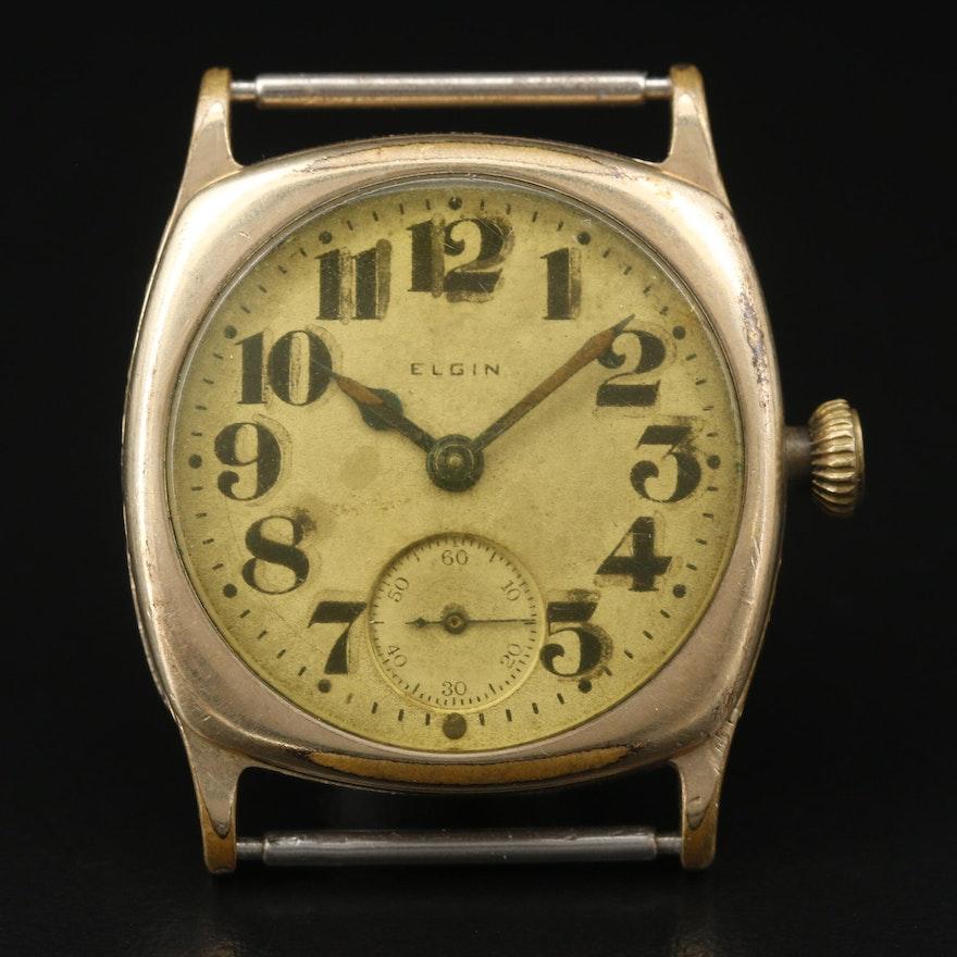 1895 Elgin Gold Filled Wristwatch