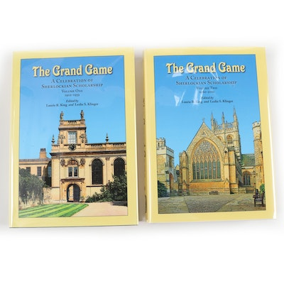 """Signed First Editions """"The Grand Game"""" Vol. I and II Edited by King and Klinger"""