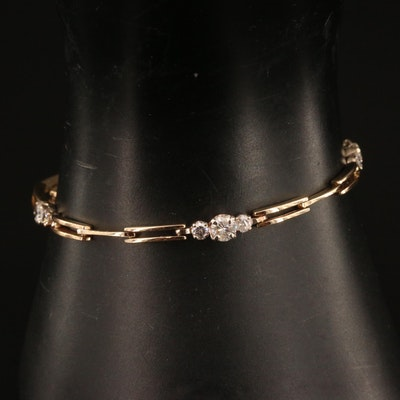 14K 1.40 CTW Diamond Bracelet