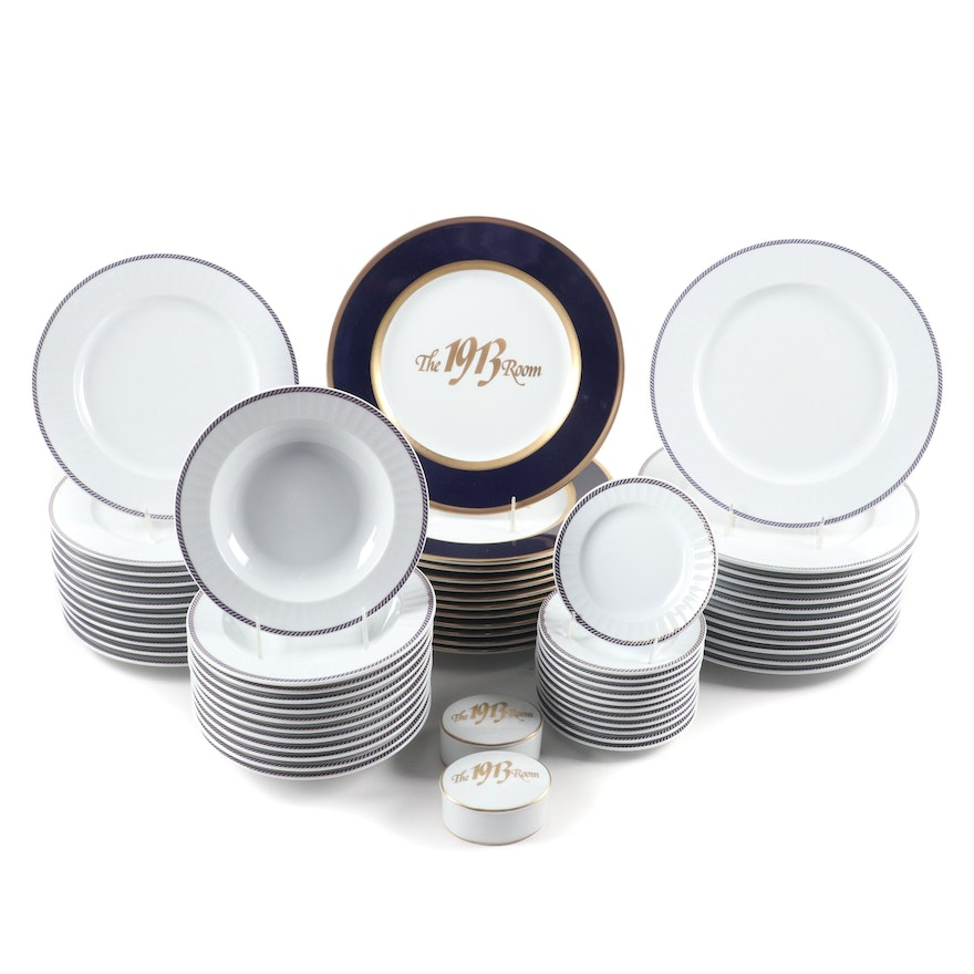 Collezioni di Roselli  Amway Grand Plaza and Eschenbach Porcelain Dinnerware,