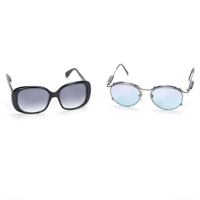 Jean Paul Gaultier and Marc by Marc Jacobs Sunglasses