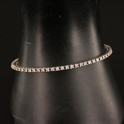 14K 1.60 CTW Diamond Line Bracelet
