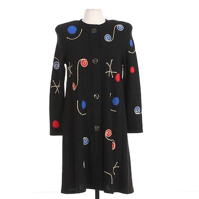 Steve Fabrikant for Bergdorf Goodman on The Plaza New York Sweater Dress