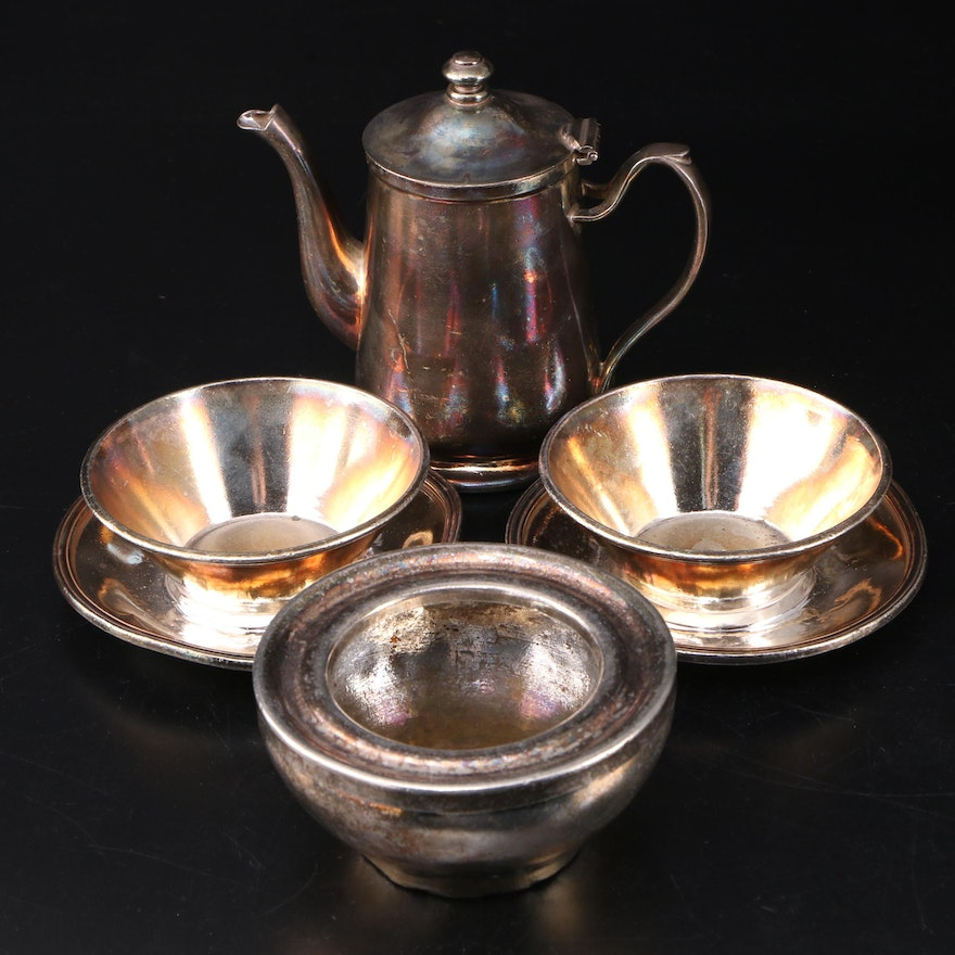 International Silver and Other Silver Soldered Bowls and Teapot