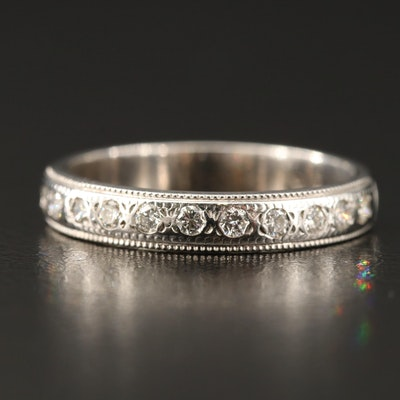 Shane Co. 14K Diamond Band