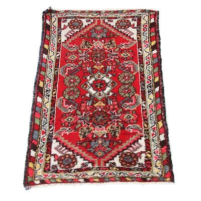 2'0 x 3'4 Hand-Knotted Persian Zanjan Rug, 1930s