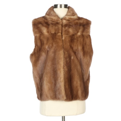 Mink Fur Vest from Fettner Friedman Furs