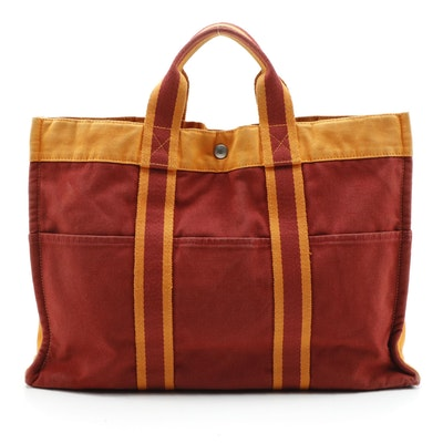 """Hermès Limited Edition """"French Festival of Hawaii 2002"""" Herline Fourre Tote"""
