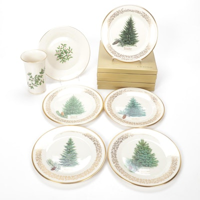 Lenox Limited Commemorative Issue Christmas Tree Plates 1976-1980, and more