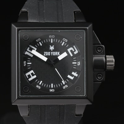 Zoo York Black & White Quartz Wristwatch