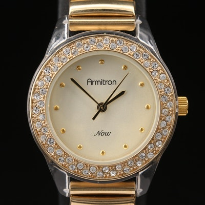 Armitron Now Crystal Accented Quartz Wristwatch