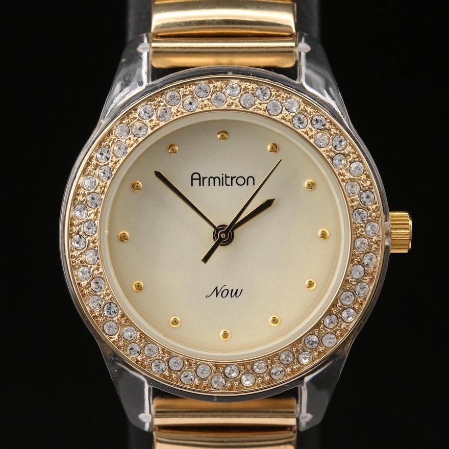 Armitron Now Crystal Accented Quartz Wristwatch
