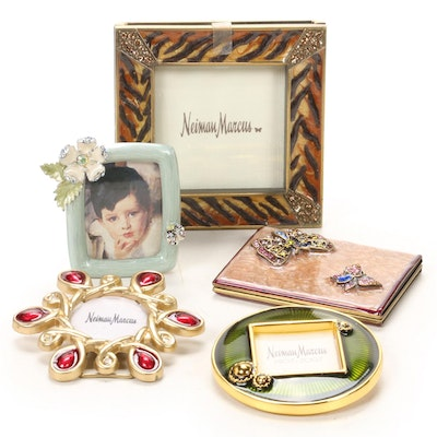 Jay Strongwater for Neiman Marcus Miniature Enameled Picture Frames