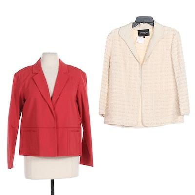 Lafayette 148 New York Blazer and Ramira Jacket