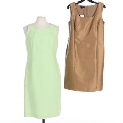 Two Lafayette 148 New York Sheath Dresses