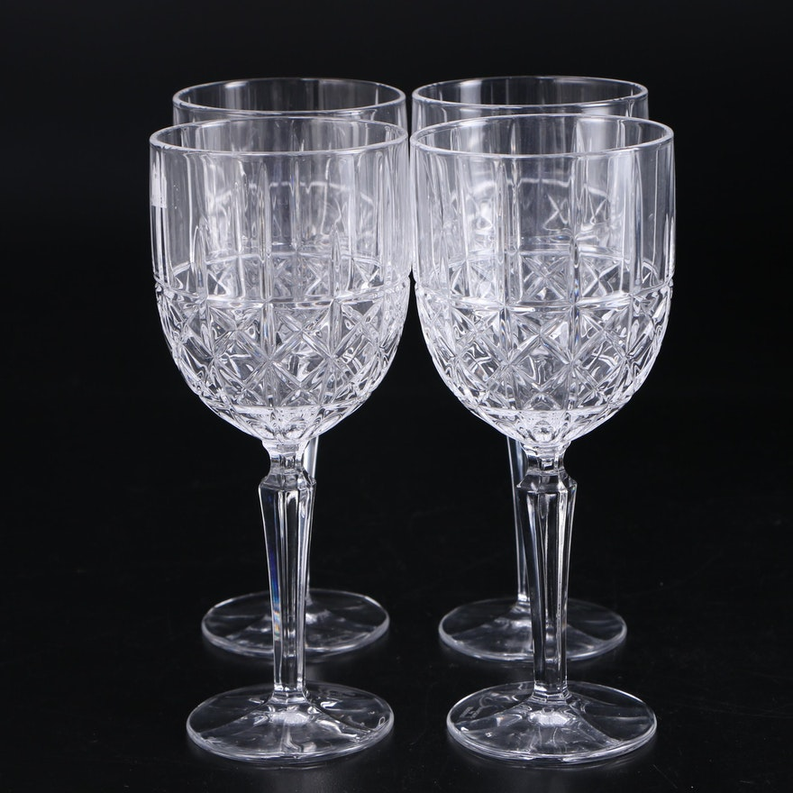 "Marquis by Waterford Crystal ""Brady"" Wine Glasses"