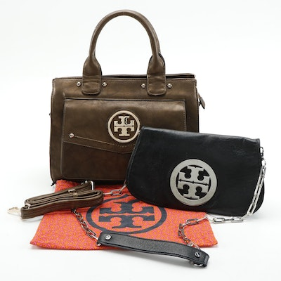 Tory Burch Reva Clutch Bag and Two-Way Tote