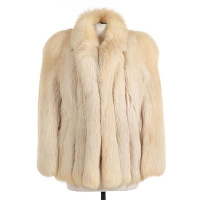 Fox Fur Full-Pelt Coat