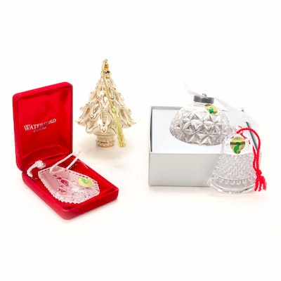 """Waterford """"Millenium"""", """"Twelve Days of Christmas"""", and Other Tree Ornaments"""