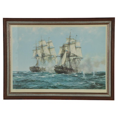 Maritime Offset Lithograph after Montague Dawson, 20th Century