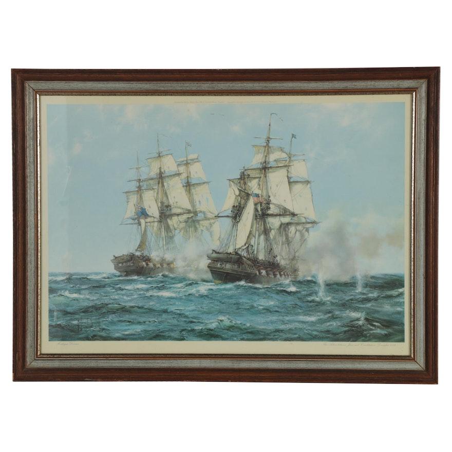 Maritime Offset Lithograph after Montague Dawson, 20th Century