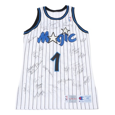 "Orlando Magic ""DeVos 1"" Friends and Players Signed Jersey, Includes Shaquille"