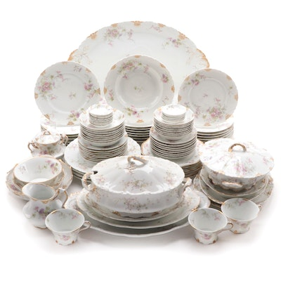 Theodore Haviland and Other Limoges Porcelain China, Late 19th/ Early 20th C.