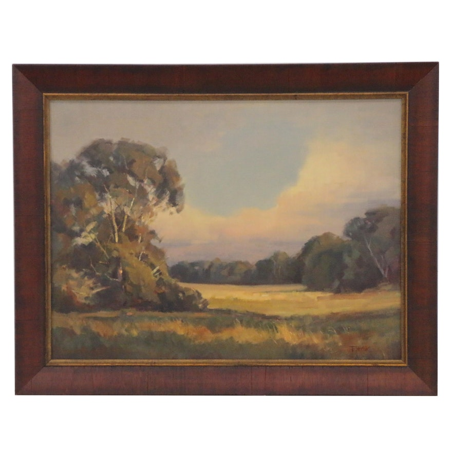 Bill Fletcher Landscape Oil Painting, 21st Century