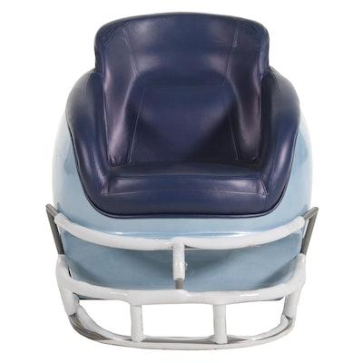 "Kentax ""Butt N Head"" Football Helmet Lounge Chair, 21st Century"