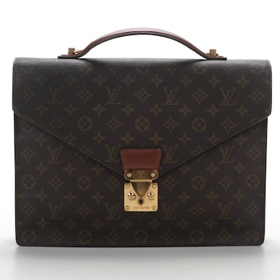 Louis Vuitton Serviette Conseiller Briefcase in Monogram Canvas