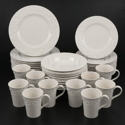 Amway Wedgwood Home Collection Embossed Dinnerware