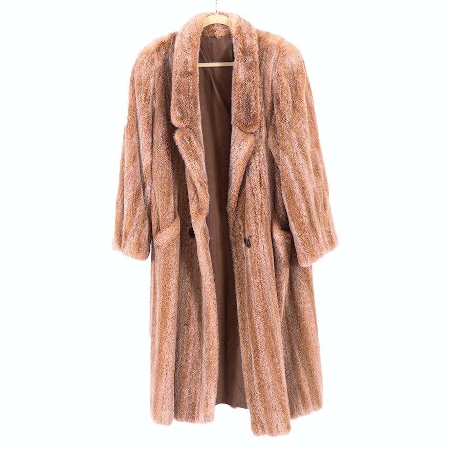 Joop Clipped Nutria Fur Coat for Gidding Jenny