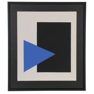 "Serigraph after Kazimir Malevich ""Suprematist Composition,"" 1988"