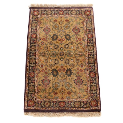 2'1 x 3'7 Hand-Knotted Tabriz Wool Accent Rug