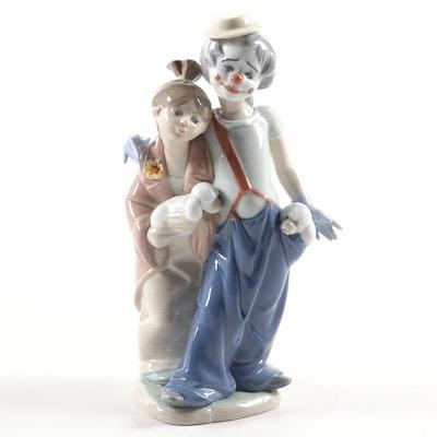 """Lladró """"Pals Forever"""" Porcelain Figurine Designed by Juan Huerta"""