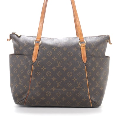 Louis Vuitton Totally GM Tote in Monogram Canvas and Vachetta Leather