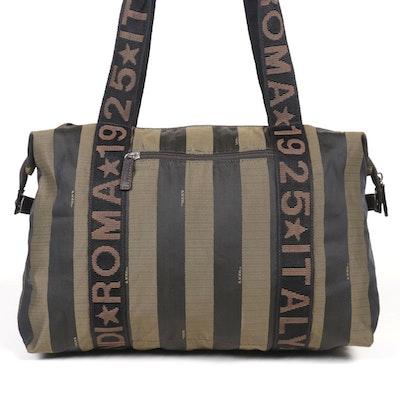 Fendi Weekender Bag in Pequin Nylon