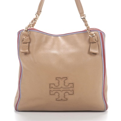 Tory Burch Tote in Grained Leather