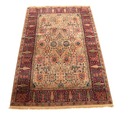 "5'10 x 9'6 Machine-Loomed Karastan Samovar ""Persian Vase"" Wool Rug"