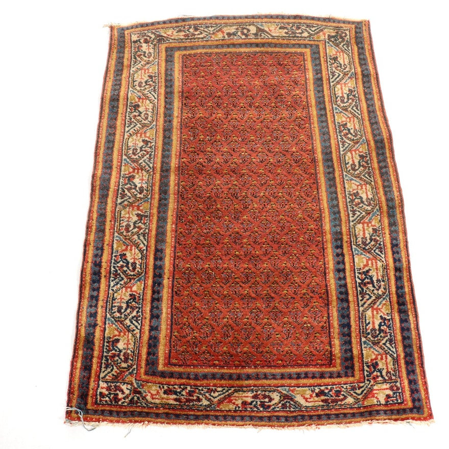 3'4 x 4'10 Hand-Knotted Seraband Wool Rug