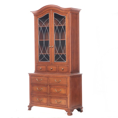 Chippendale Style China Cabinet, Vintage