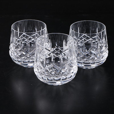 "Waterford Crystal ""Araglin"" Roly Poly Glasses"