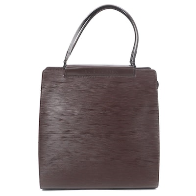 Louis Vuitton Figari MM Bag in Brown Epi Leather