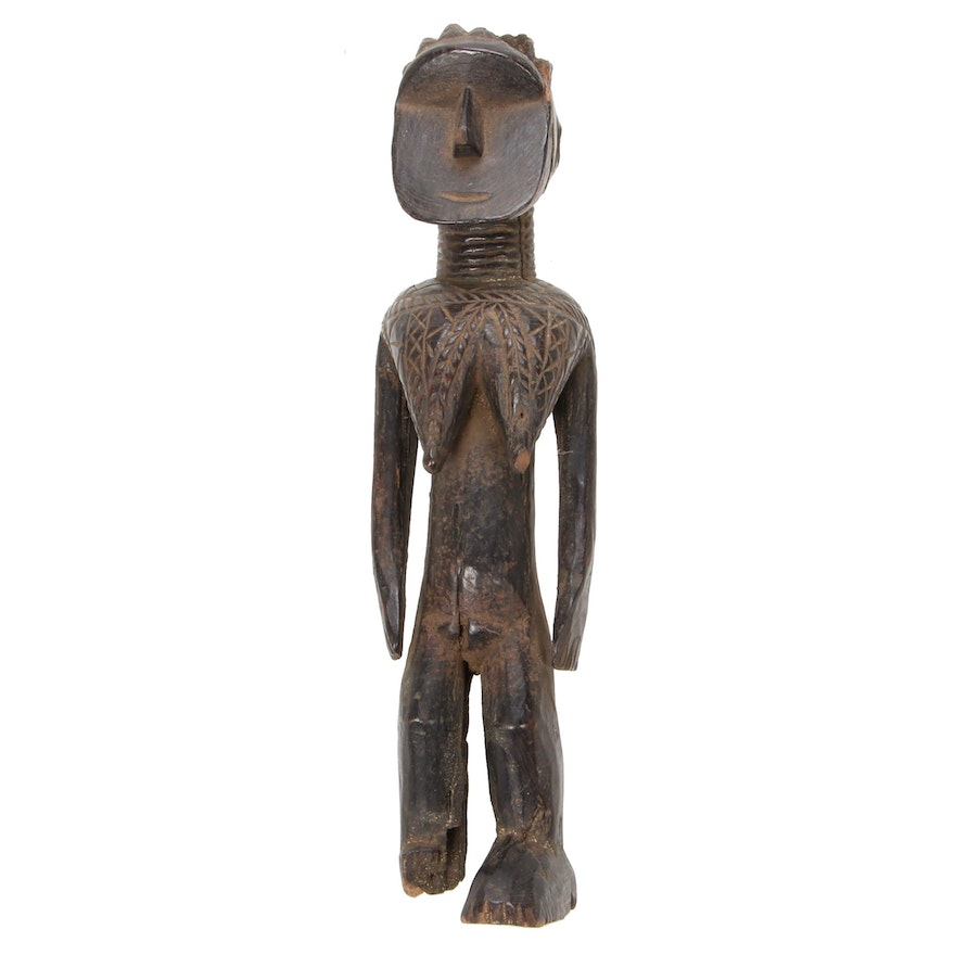 Mossi Style Wooden Figure, West Africa