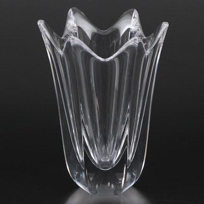 """Orrefors """"Belle"""" Crystal Vase, 1991–1994"""