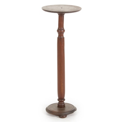 Empire Style Turned Mahogany Plant Stand, Early 20th Century