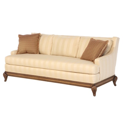 Tomlinson Erwin-Lambeth Upholstered Walnut Sofa