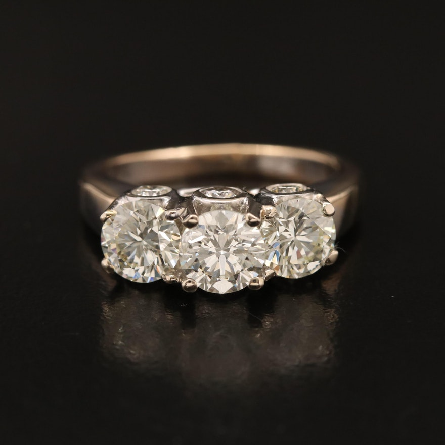 14K 3.02 CTW Diamond Ring